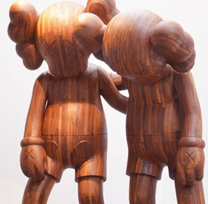 Kaws is showing at the Brooklyn Museum