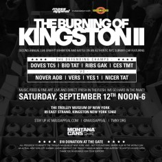 Kingston Will Burn – Come One, Come All!
